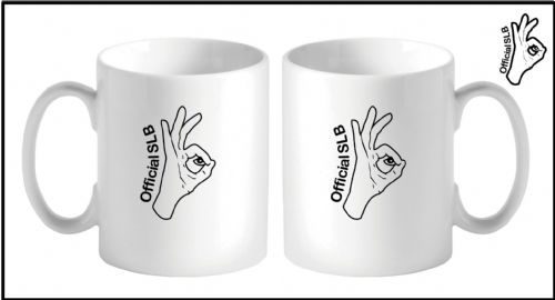 SLB Logo Hand Mug Simply loveleh Brotherhood official Hand  Mug